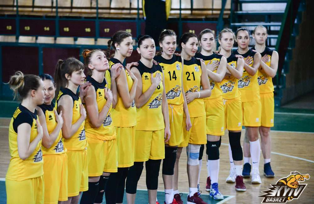 команда «Київ-Баскет» - 11