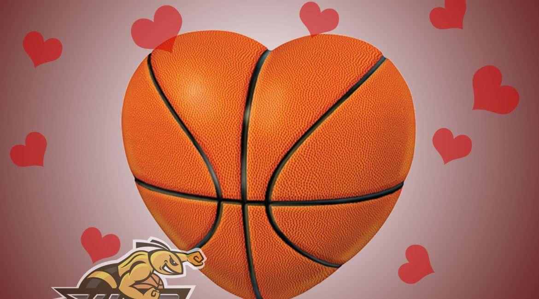 Баскетбол День святого Валентина